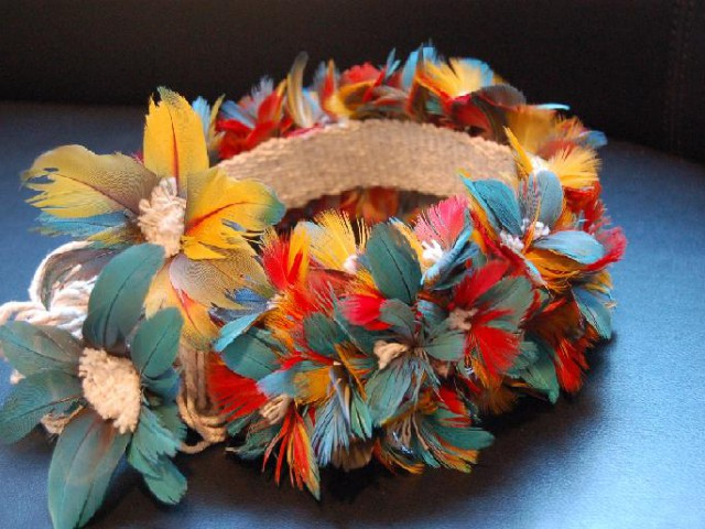 Pesquisadoras publicam obra que retrata a confecção de adornos utilizando plumagem de pássaros e seus respectivos significados